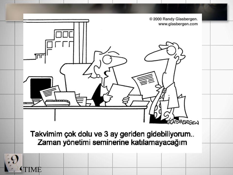 Dikkatli bir planlama iyi bir zaman yönetiminin temelidir. Yönetim planlama ile başlar. Ve en önemli aşamadır... PLANLAMA