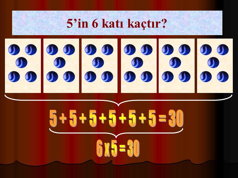 2 + 2 + 2 + 2 + 2 + 2 = 12 6 x 2 = 12