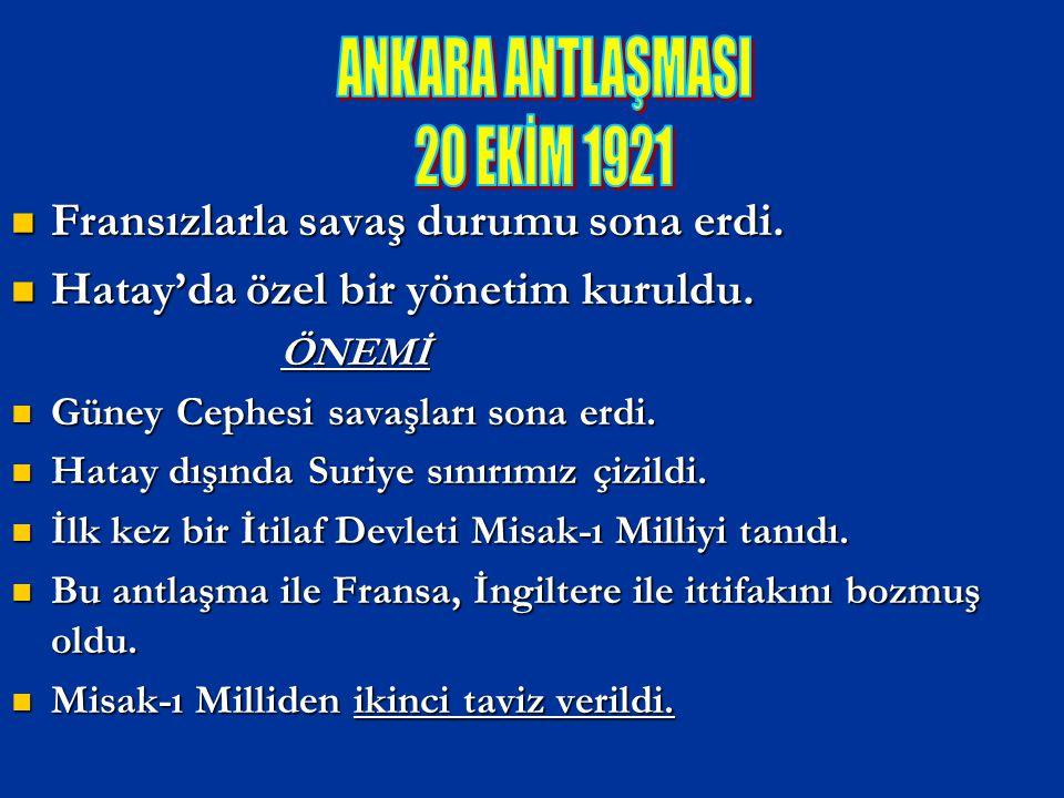 BÜYÜK TAARRUZ BAŞKOMUTANLIK MEYDAN SAVAŞI 26 AĞUSTOS 1922 Düşmanı Anadolu`dan atmak.