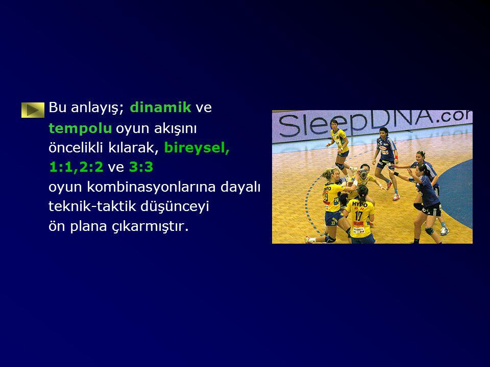 İşte; hentboldeki bu tempolu ve hızlı teknik taktik gelişim hentbolcülerin kondisyonel özelliklerinde yeni gereksinmeler oluşturmuştur.