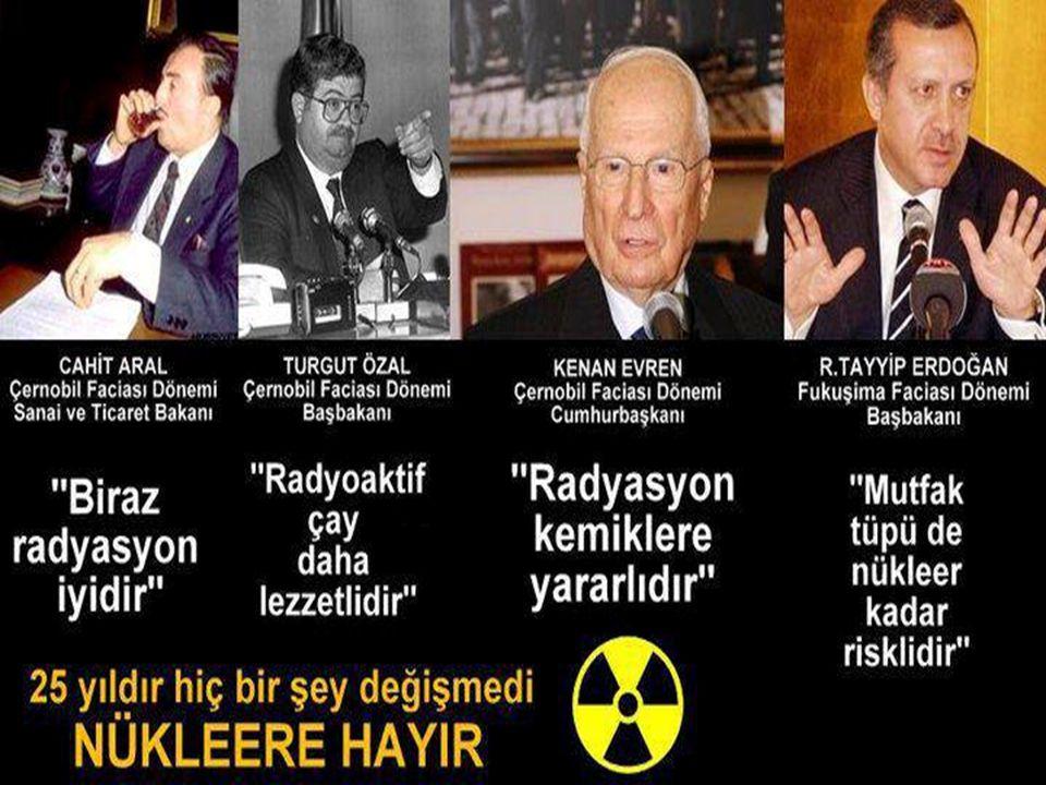 ATIKLAR Bir elementin radyoaktivitesinin etkinliği ancak yarı ömrünün on katı gibi bir süre sonunda kaybolur.