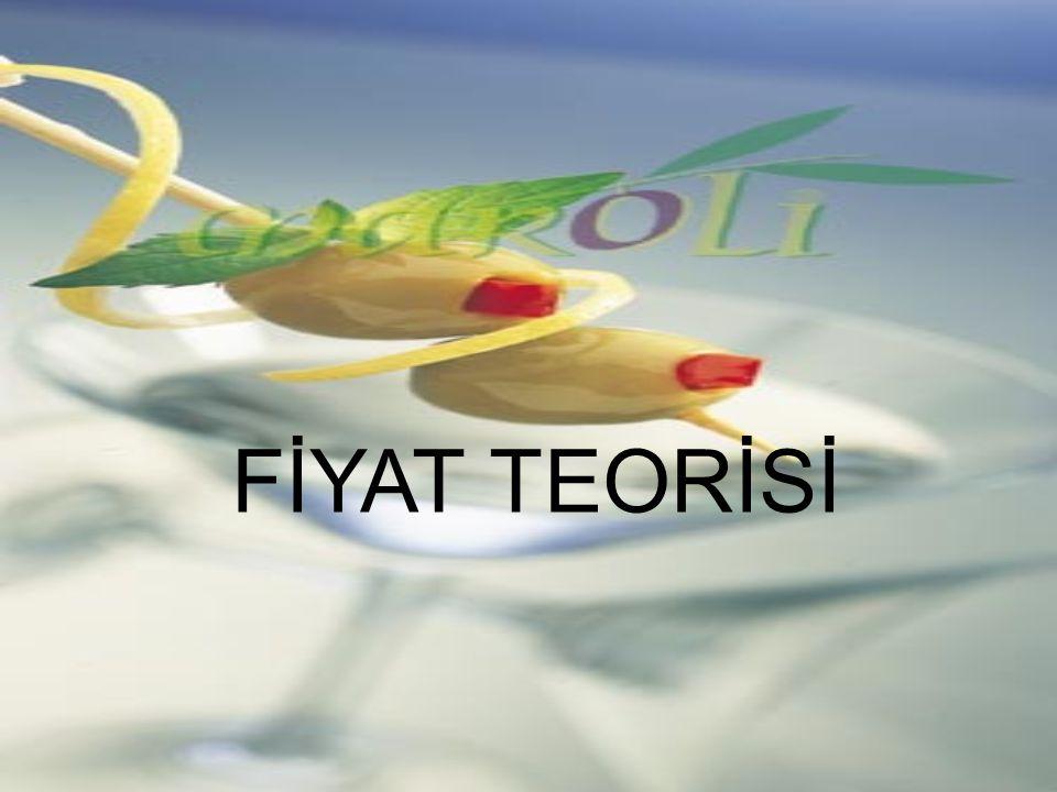 FİYAT TEORİSİ