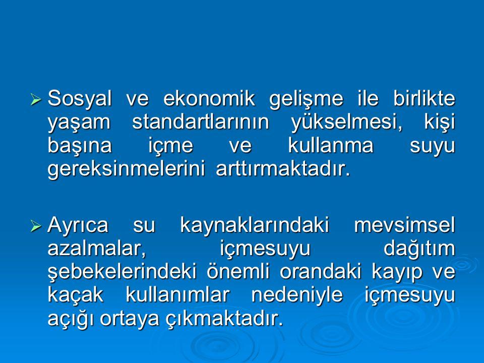 TERS OZMOZ ÜNİTESİ POMPA GRUBU BAFRA SU ARITMA TESİSİ