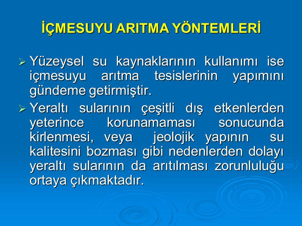 TERS OZMOZ ÜNİTESİ KARTUŞ FİLTRELER BAFRA SU ARITMA TESİSİ