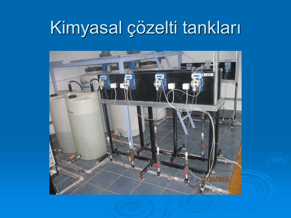 Kimyasal çözelti tankları