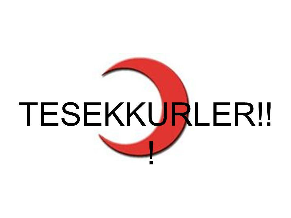 TESEKKURLER!! !