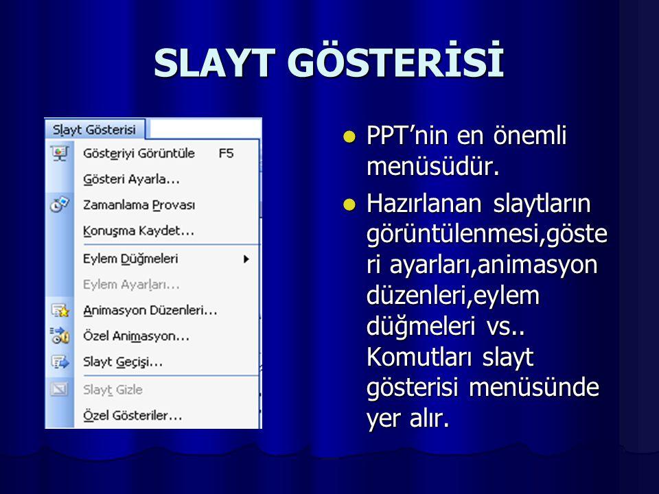 BİÇİM Yazı tipi,yazı büyüklüğü, arka plan rengi,hizalama(sağa sola ortaya),satır aralığı..