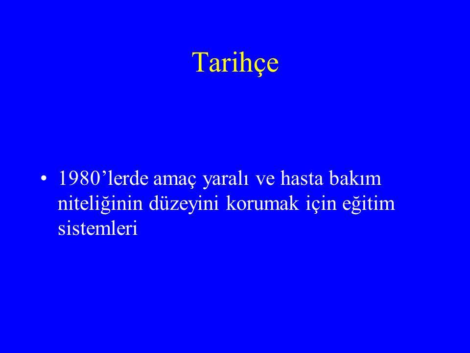 Türkiye'de hastane öncesi acil bakım hizmetleri 1986 yılında '077 HIZIR ACİL SERVİSİ' 3 büyük ilde