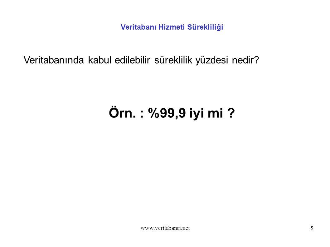 www.veritabanci.net46 openUP - SAN Tabanlı Aktif-Pasif Kümeleme Çözümü openUP Yönetim - Bakım ve Sürüm Yükseltme root # service openUP stop ( Master veya slave )
