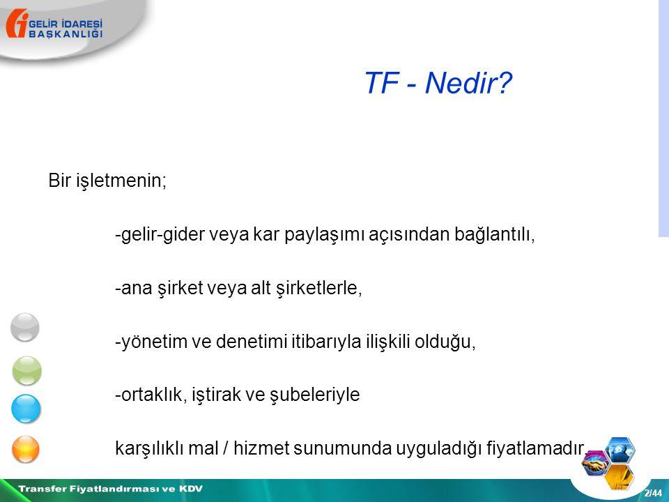 TF - Nedir.