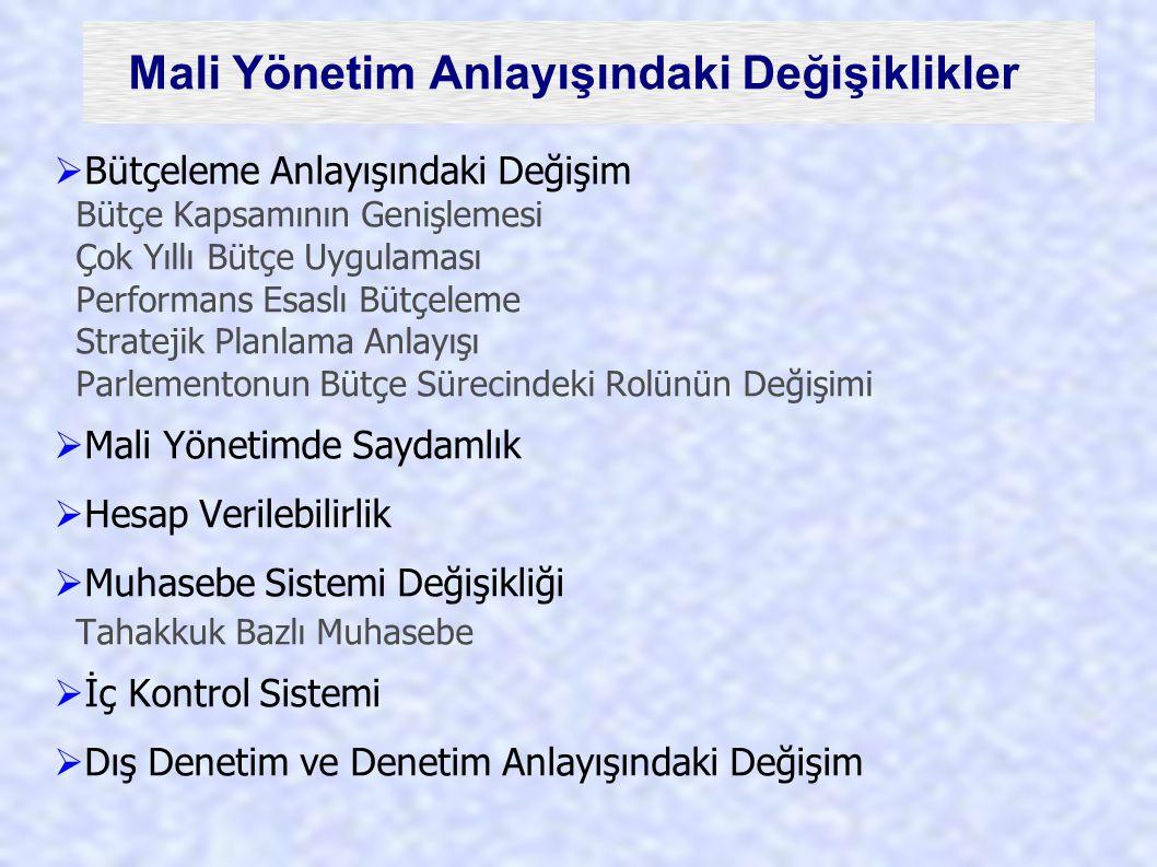 6085 sayılı Kanun Kanunun amacı kamuda hesap verme sorumluluğu ve mali saydamlık esasları çerçevesinde; Kamu idarelerinin etkili, ekonomik, verimli ve hukuka uygun olarak çalışması ve kamu kaynaklarının öngörülen amaç, hedef, kanunlar ve diğer hukuki düzenlemelere uygun olarak elde edilmesi, muhafaza edilmesi ve kullanılması için Türkiye Büyük Millet Meclisi adına yapılacak denetimleri, Sorumluların hesap ve işlemlerinin kesin hükme bağlanmasını ve kanunlarla verilen inceleme, denetleme ve hükme bağlama işlerini yapmak üzere Sayıştayın kuruluşunu, işleyişini, denetim ve hesap yargılaması usullerini, … düzenlemektir.