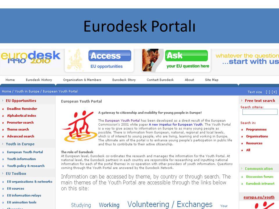 Eurodesk Portalı