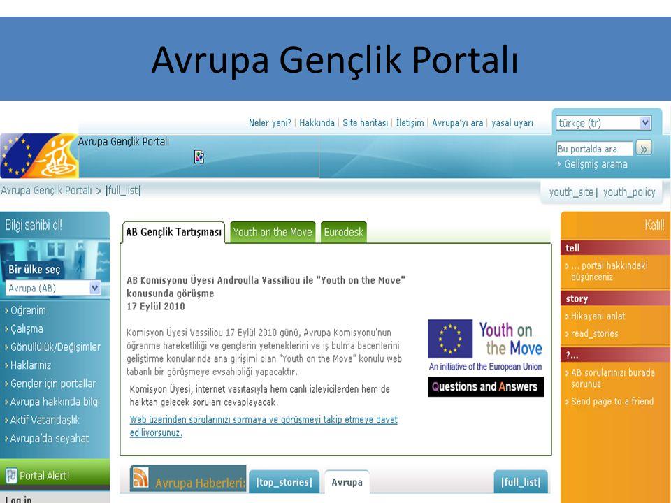 Avrupa Gençlik Portalı