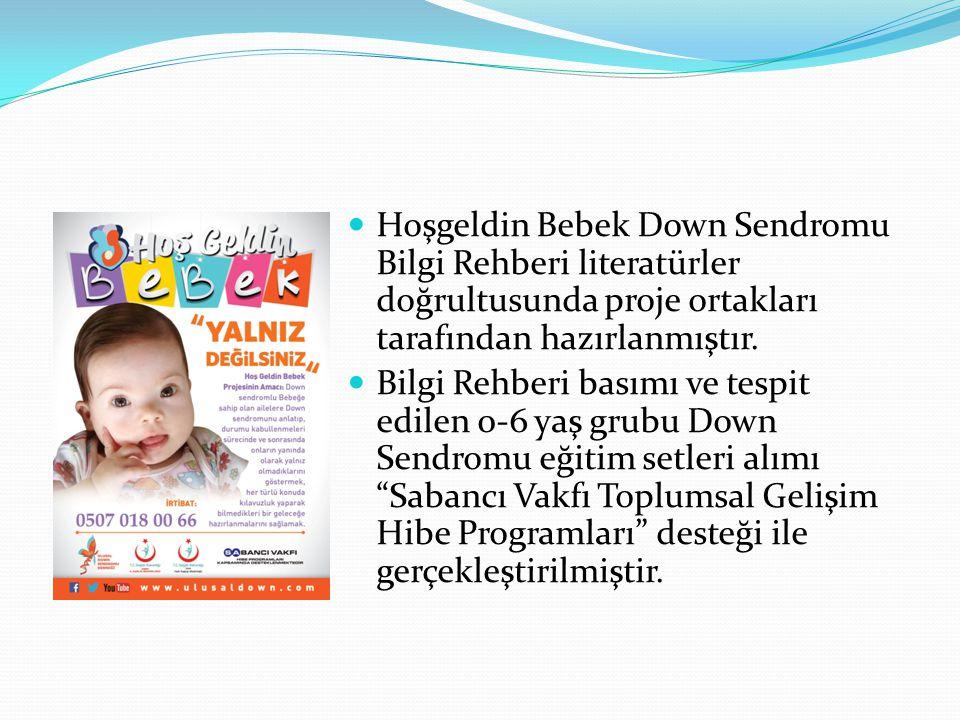 Hoşgeldin Bebek Down Sendromu Bilgi Rehberi literatürler doğrultusunda proje ortakları tarafından hazırlanmıştır.