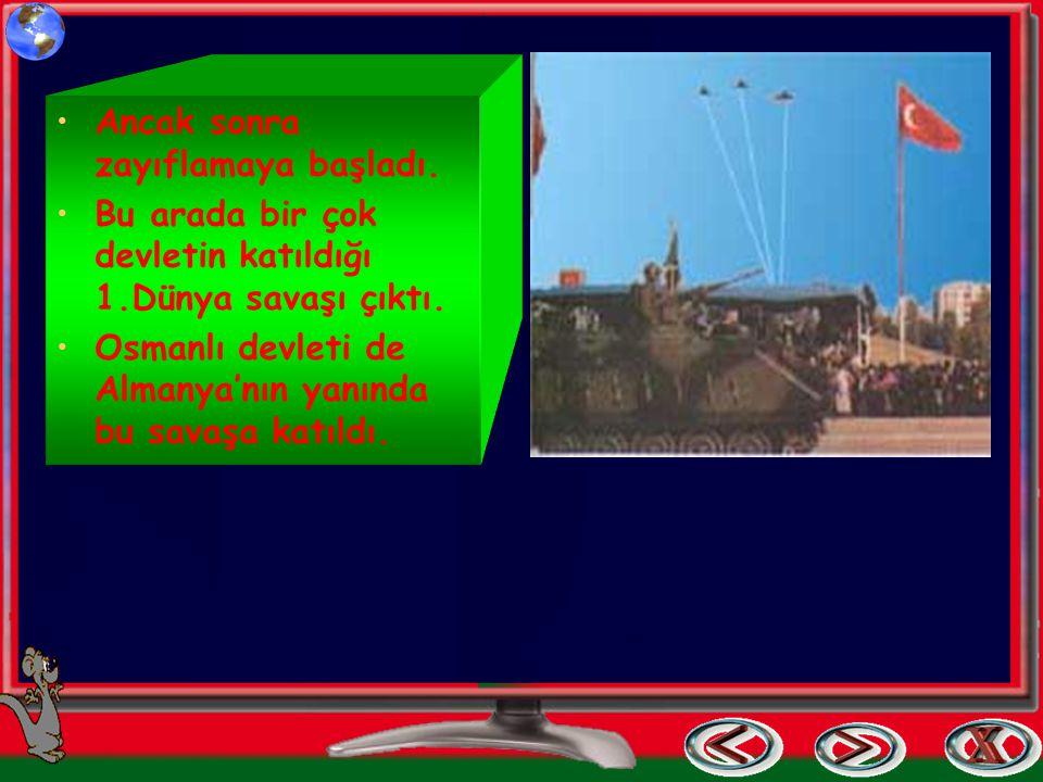 Cumhuriyete Nasıl Kavuştuk? Eskiden devletimizin adı OSMANLI devletiydi. Ülkeyi padişah ve vezirler yönetirdi. Osmanlı devleti zamanın en güçlü devlet