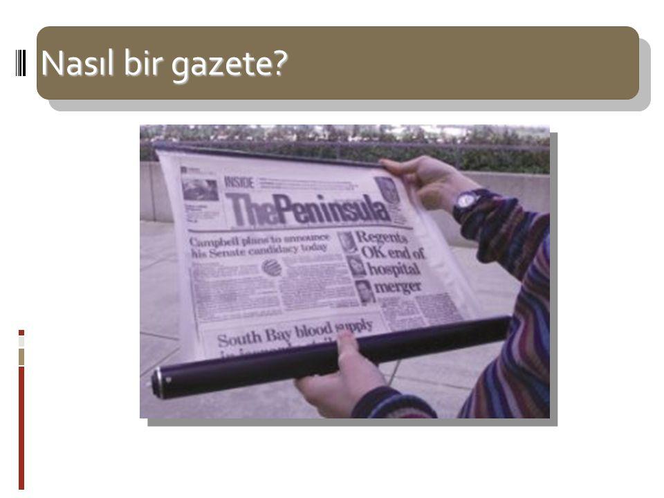 Nasıl bir gazete
