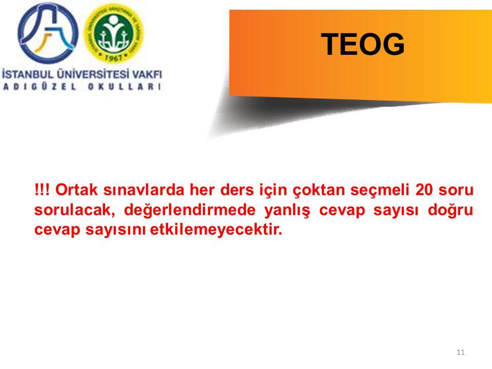 11 TEOG  !!.
