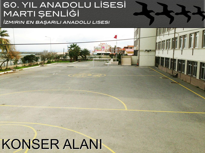 OKULUMUZ 60.Yıl Anadolu Lisesi 1984-1985 yılında eğitime başlamıştır.