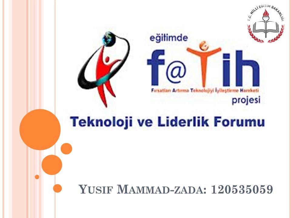 Y USIF M AMMAD - ZADA : 120535059