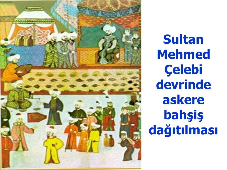 Çelebi Mehmed'in tahta çıkışı