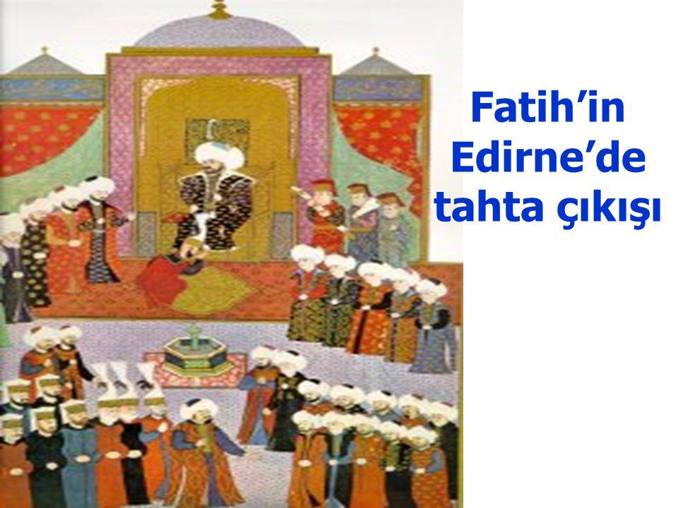 Sultan 2. Murad'ın tahta çıkışı ve biat merasimi