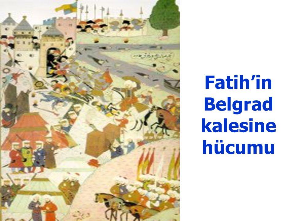 Fatih'in Edirne'de tahta çıkışı