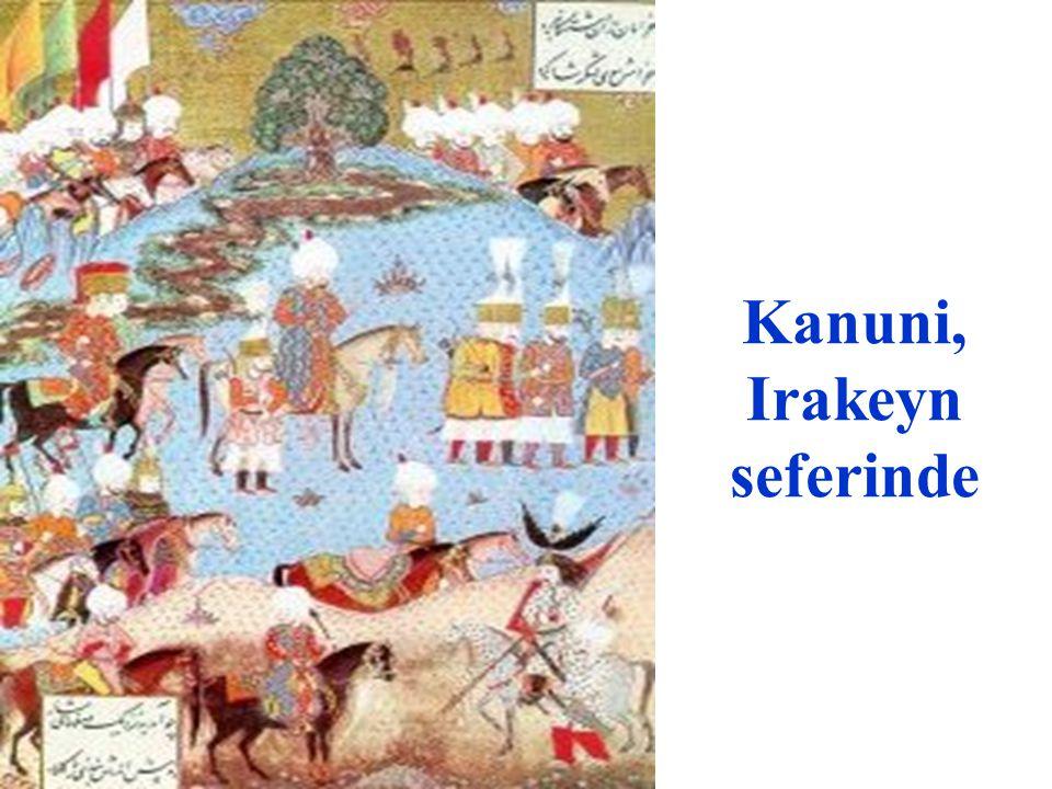 Kanuni Sultan Süleyman'ın Erdel Prensini huzura kabul etmesi