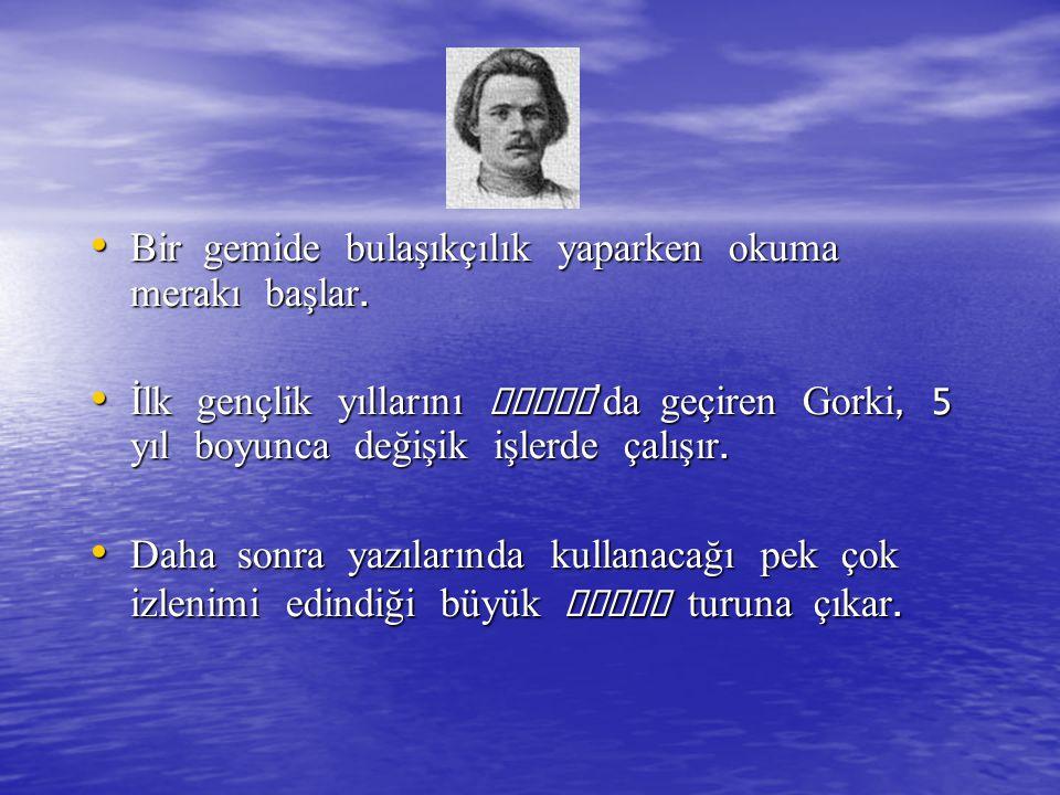 Gorki 1905 de Rusya Sosyal Demokrat İşçi Partisi ne resmi olarak üye olur ve Bilgi isimli bir yayınevi kurar.