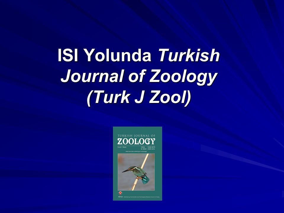 Başvuru Mektubunun İçeriği Derginin güvenilirliği vurgulandı Derginin kapsadığı alanla ilgili bilgi verildi Danışmanlar kurulu hakkında bilgi verildi Derginin makale değerlendirme işlemleri kısaca açıklandı Derginin bölgesel önemi vurgulandı Türkiye'nin hayvan çeşitliği hakkında bilgi verildi ve SCI-E kapsamına alındığında gelişebileceği özellikle vurgulandı
