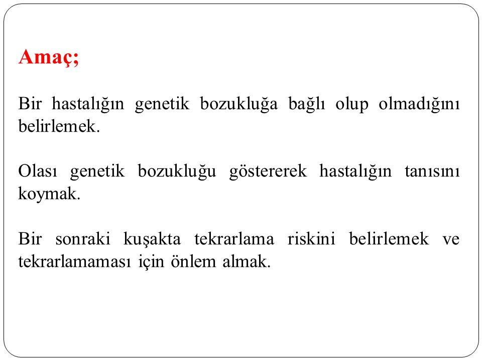 POSTNATAL TANI ENDİKASYONLARI 2 3.