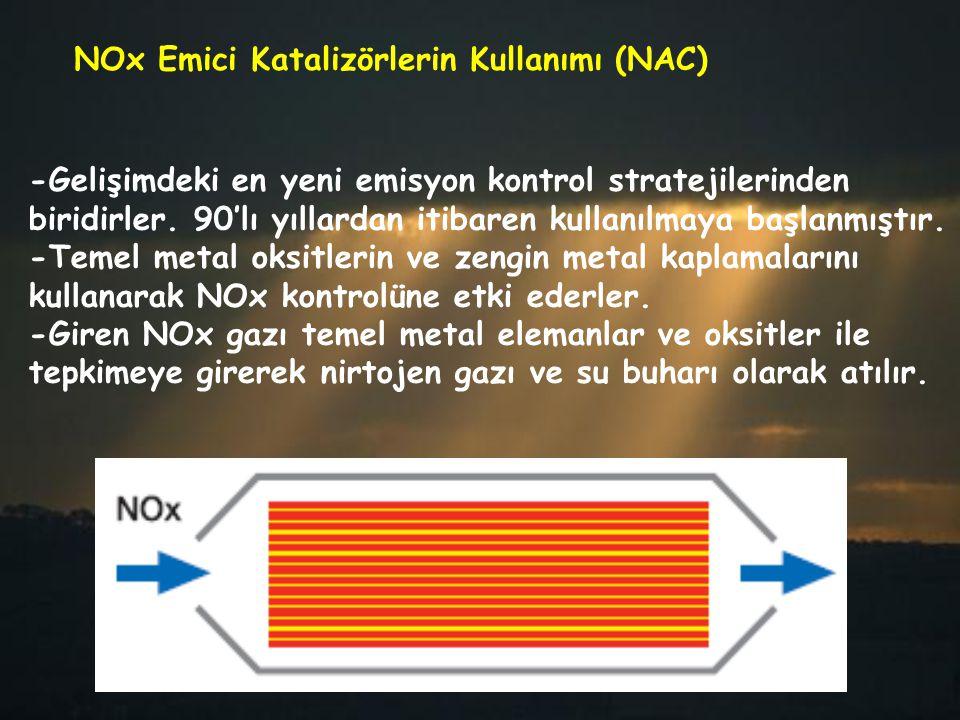 -Gelişimdeki en yeni emisyon kontrol stratejilerinden biridirler. 90'lı yıllardan itibaren kullanılmaya başlanmıştır. -Temel metal oksitlerin ve zengi