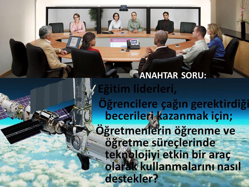 Dünyada ve Türkiye'de Eğitim Teknolojileri 1988 yılında toplanan 12.