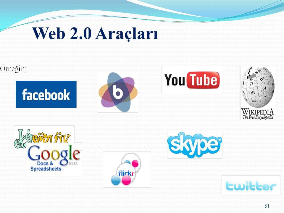 51 Web 2.0 Araçları