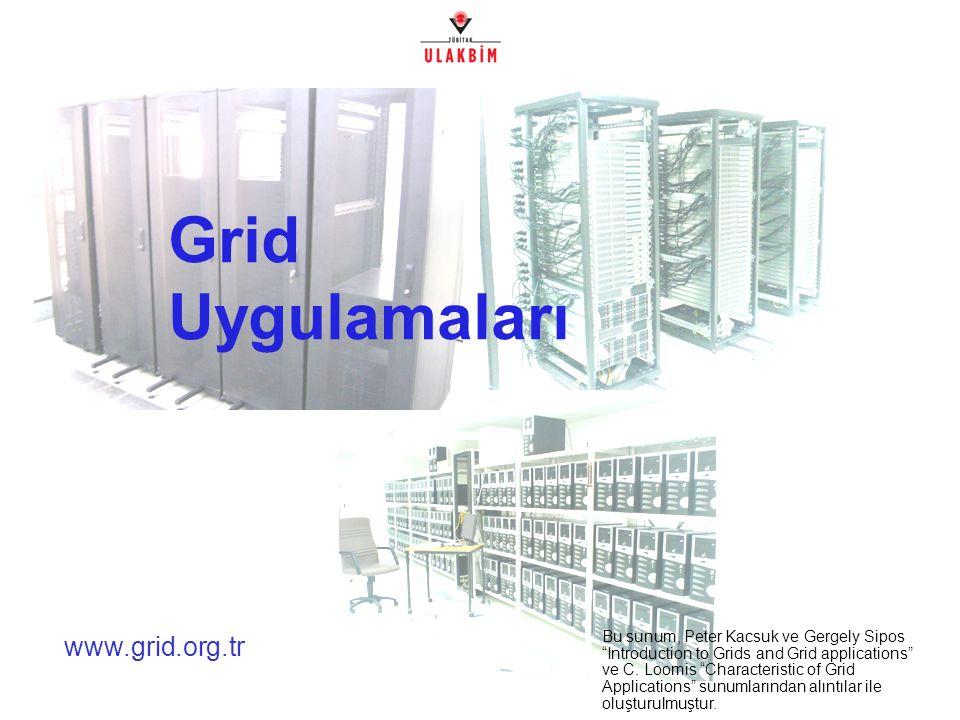 Kullanıcı Eğitimi, Boğaziçi Üniversitesi, İstanbul2/32 Neden Grid.