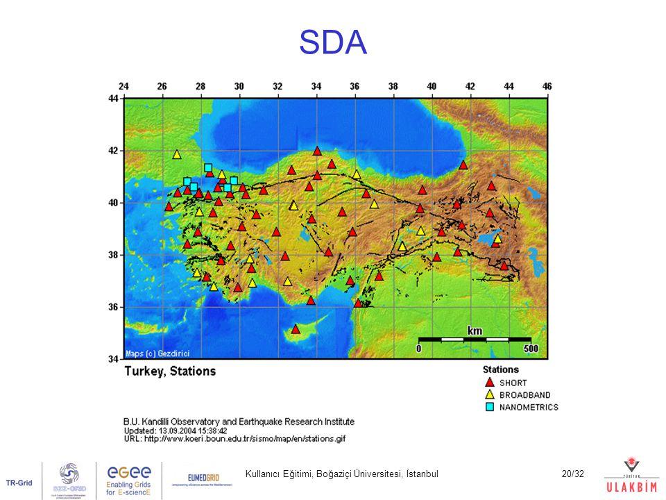 Kullanıcı Eğitimi, Boğaziçi Üniversitesi, İstanbul20/32 SDA