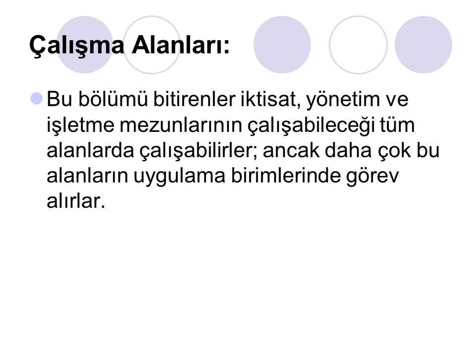Bölümler / EKONOMETRİ Marmara Üni.İstanbul Üni. Dokuz Eylül Üni.