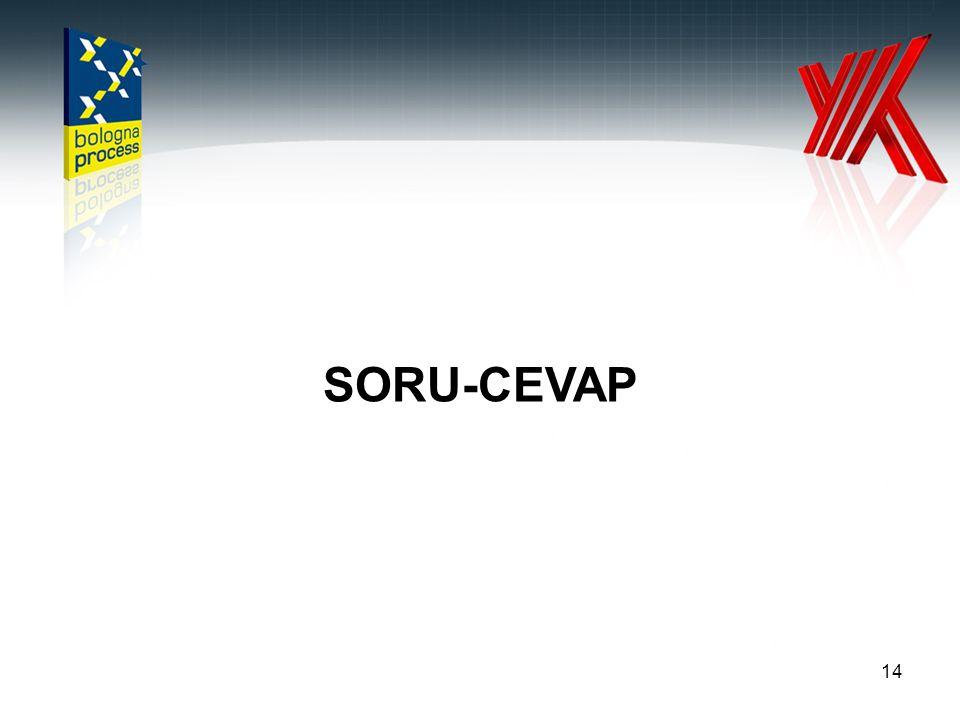 14 SORU-CEVAP
