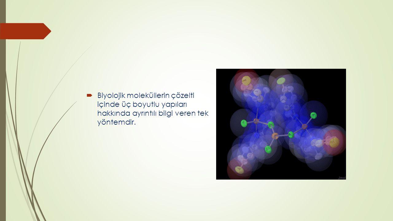 NMR CİHAZI KULLANIM ALANLARI  İlaç SEKTÖRÜ : Metabolik çalışmalarda NMR spektrofotometresi bir örnekte çok hızlı bir şekilde varolan bütün metabolitleri tanımlayabilir ve konsantrasyonlarını saptayabilir.