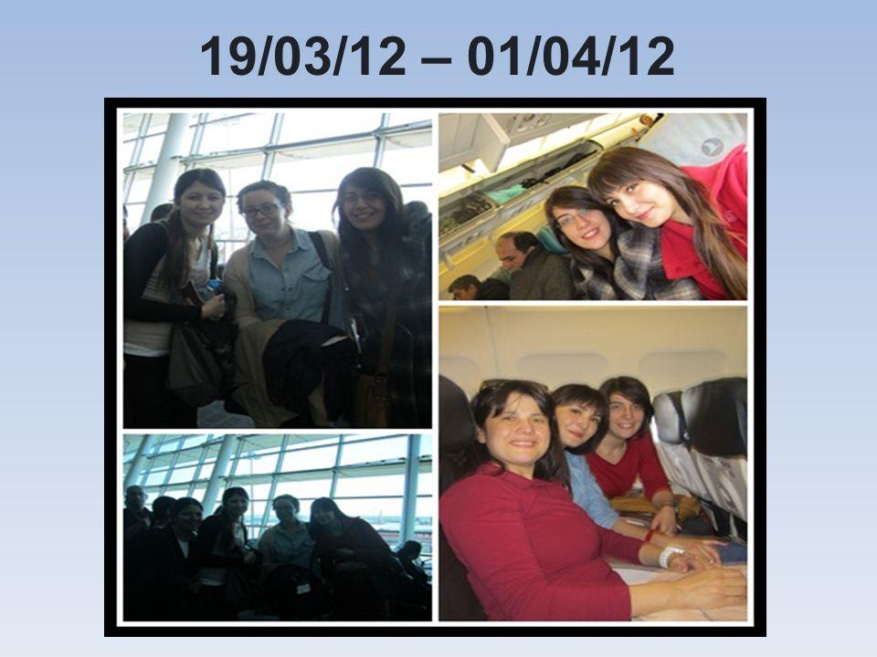 19/03/12 – 01/04/12