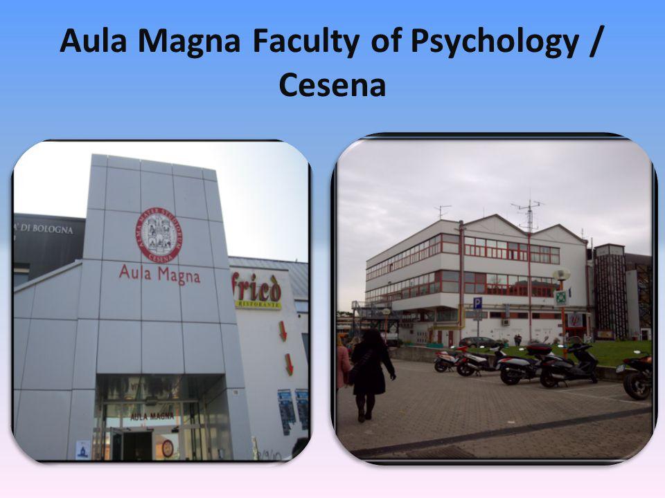 Aula Magna Faculty of Psychology / Cesena
