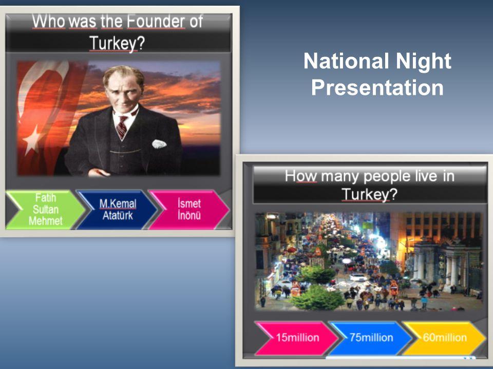 National Night Presentation