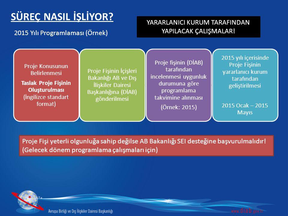 SÜREÇ NASIL İŞLİYOR.