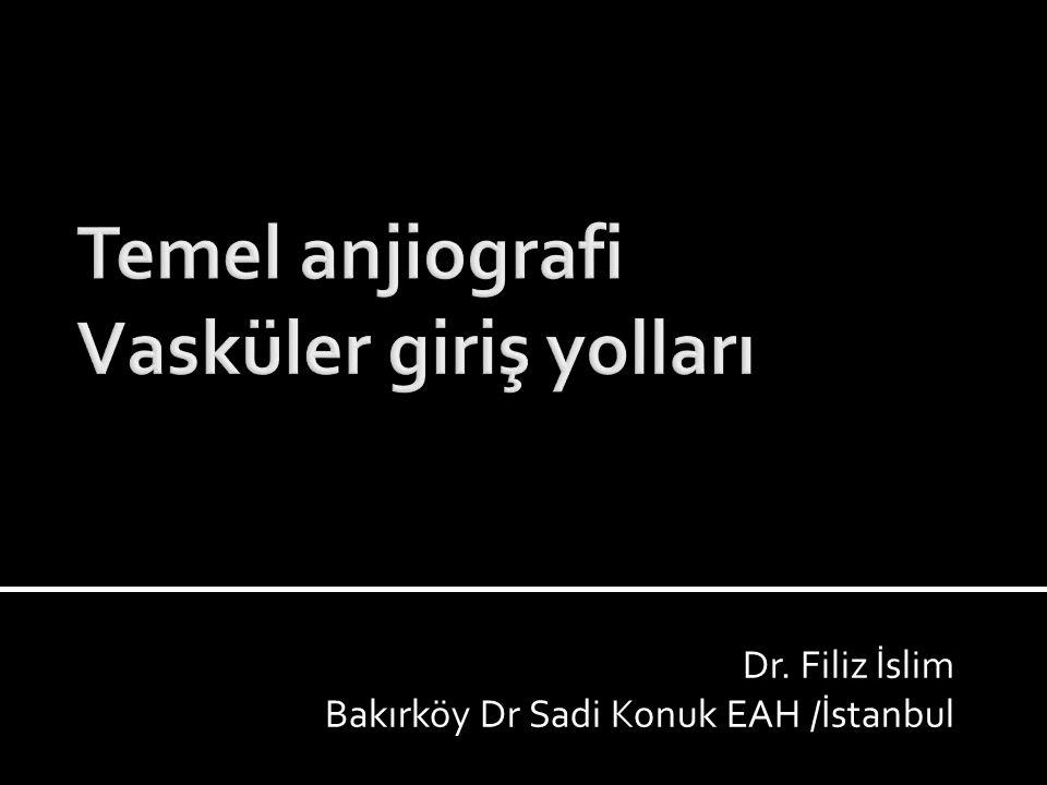 Dr. Filiz İslim Bakırköy Dr Sadi Konuk EAH /İstanbul