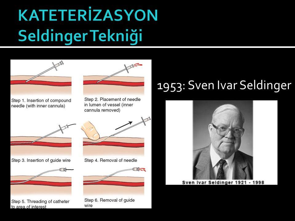 1953: Sven Ivar Seldinger
