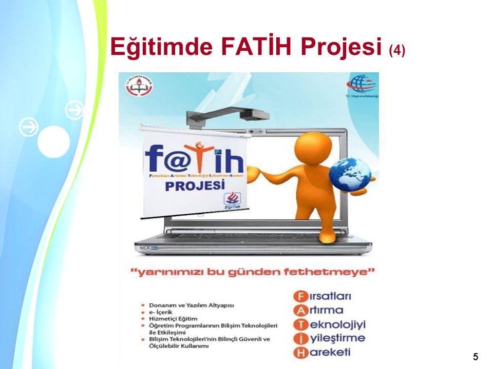 Powerpoint Templates Akademik Bilişim 2011, 2-4 Şubat 2011 / İnönü Üniversitesi, Malatya 5 Eğitimde FATİH Projesi (4)
