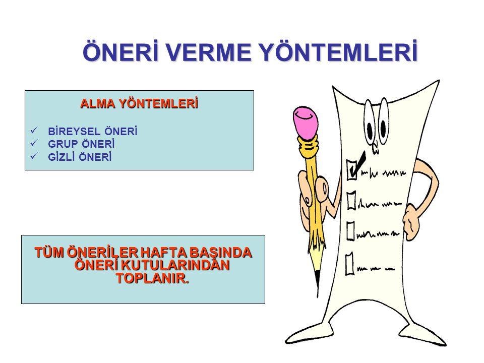 ÖNERİ FORMU