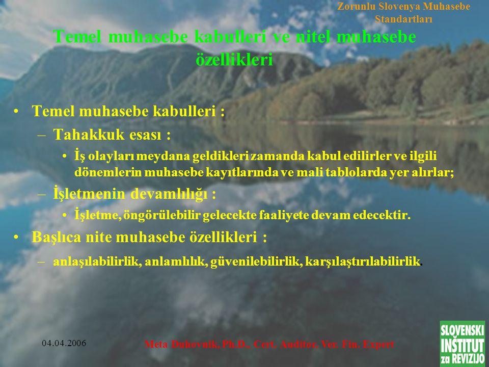 04.04.2006 Meta Duhovnik, Ph.D., Cert. Auditor, Ver.