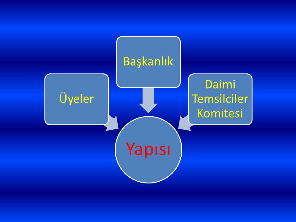 Yapısı ÜyelerBaşkanlık Daimi Temsilciler Komitesi