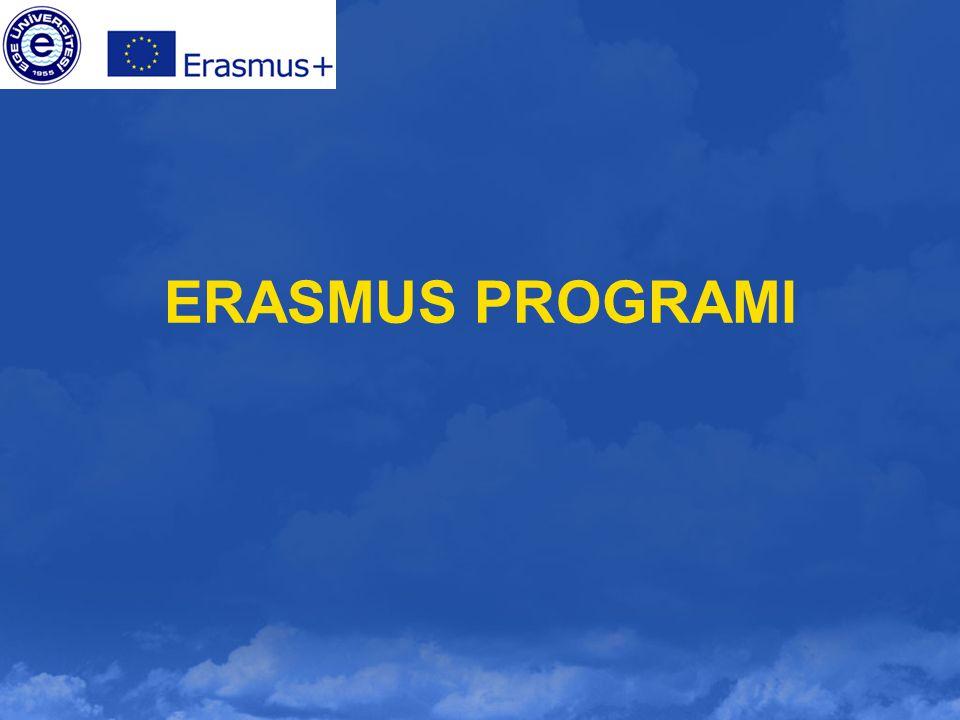 2014-2015 Erasmus+ Programı Hareketlilik ÖNEMLİ NOT Erasmus Öğrenim Hareketliliği Programından faydalanmak için başvuru yapan öğrenciler, Erasmus öğrencisi olarak seçildikleri takdirde aday olduklarını ve Ege Üniversitesine verilen hibe miktarının Ulusal Ajans tarafından ilan edilmesinden sonra seçim sonuçlarının kesinlik kazanacağını, Ege Üniversitesi web sayfasında yayımlanan tüm maddeleri okuyup, anladıklarını kabul ederler.