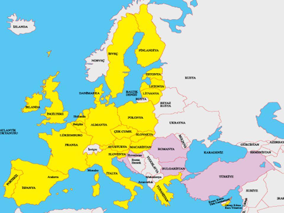 AB'NİN KURUMLARI (ORGANLARI) 1.Asıl Organları Devlet ve Hükümet Başkanları Zirvesi Bakanlar Konseyi Komisyon Avrupa Parlamentosu Avrupa Toplulukları Adalet Divanı Sayıştay 2.Danışma Organları a.